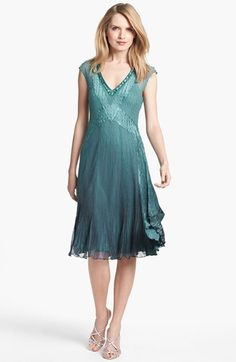 This Would Be A Great Little Mob Dress Komarov Embellished Ombré Chiffon Regular Pee Available At Nordstrom