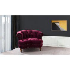 Jennifer Taylor Home La Rosa Tufted Accent Chair - 2525-1-859