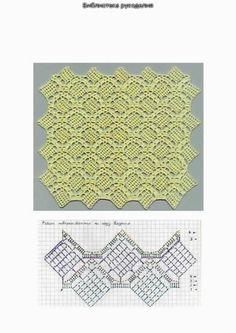 Gallery.ru / Фото #11 - Схемы вязания полотна крючком - irisha1605k