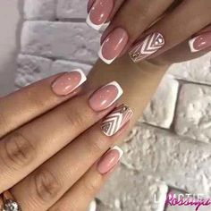 Deep french nails Side Braids in 2020 Pastel Pink Nails, Pink Nail Art, Purple Nails, Red Nails, Burgundy Nails, French Nails, French Manicure Nails, Oval Nails, Nail Nail