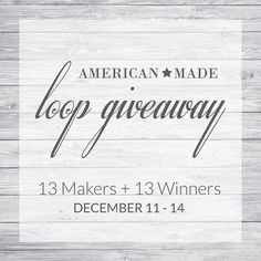 G I V E A W A Y - L A S T C H A N C E   Have you entered the #AmericanMadeLoopGiveaway!? We joined up with 13 talented Makers to bring your 13 different prizes! #rriveterbags #americanhandmade #bagsonamission  OUR PRIZE: An R. Riveter Signature Patton Handbag  A $120 Value   Here are the rules for this loop giveaway:  Follow all of the accounts in the loop.  Comment below with a friend's name that should enter to win too!  Visit @fortcotton next!   Remember you must follow ALL Instagram…