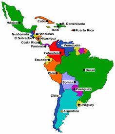 """Canción """"La Gozadera"""" de Gente de Zona y Marc Anthony para aprender los nombres de los diferentes países de América Latina. Descarga gratuitamente las actividades y la ficha del profesor con las soluciones."""