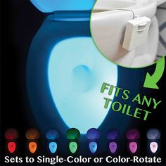 IllumiBowl Toilet Night Light #MDRStocking
