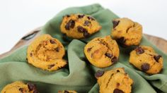 Pumpkin Chocolate Chip Cookies - I think this would be good made into bars too! The Chew Recipes, Baking Recipes, Cookie Recipes, Dessert Recipes, Cookie Ideas, Pumpkin Recipes, Fall Recipes, Holiday Recipes, Holiday Foods