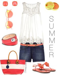"""Summer 2013"" by kzipp on Polyvore"