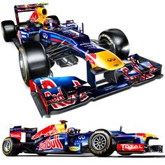 Red Bull launch their new car which will be driven by world champion Sebastian Vettel and team-mate Mark Webber. Red Bull F1, Red Bull Racing, F1 Racing, Racing Team, Mark Webber, Ferrari, Lamborghini Aventador, Good Looking Cars, Monaco Grand Prix