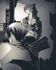 Season 2 was amazing Season 2 was amazing! Akane had some badass character development. Ginoza set aside his mourning and looked out for her like a big brother the whole time. The plot was just as good as the first season but I missed Kou Manga Art, Manga Anime, Anime Art, Ginoza Nobuchika, Makishima Shogo, Illustration Tumblr, Science Fiction, Psycho Pass, Durarara
