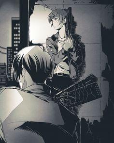 Nobuchika and Akane // Psycho Pass