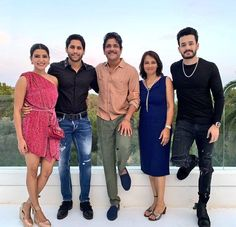 Akkineni Nagarjuna Recently turned he welcomed 60 in a grand way by celebrating his birthday in a grand manner with his wife and sons in spain. Samantha Images, Samantha Ruth, Bollywood Fashion, Bollywood Actress, Actress Anushka, Bollywood Stars, Telugu Hero, Samantha Wedding, Fyre Festival