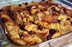 Bread Pudding II Pudding Recipes, Bread Recipes, Cake Recipes, Dessert Recipes, Cooking Recipes, Hamburger Recipes, Vegetarian Cooking, Just Desserts, Delicious Desserts