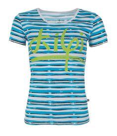 Women's T-shirt KILPI - ARAFA - light grey