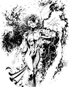 Polaris by Philip Tan #sketch learning from classic comics masters again…