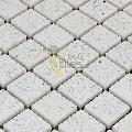 Diamond White Quartz Mosaic Tiles