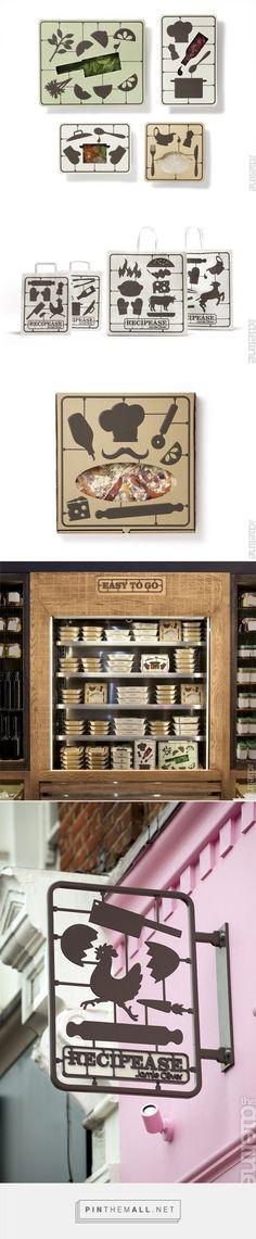 Recipease by Jamie Oliver — The Dieline - Branding & Packaging {cT}