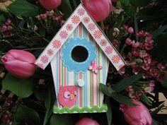 Margriet Creatief: Vogelhuisje