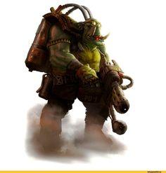 warhammer 40000,фэндомы,orks,Burna Boyz