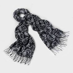Fabulously feline-chic Hello Kitty Tweed Scarf