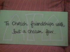to cherish friendships with but a chosen few <3 #livewithpurpose
