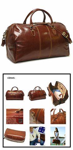 f86d762ff43f Floto Venezia Duffle Bag Leather Duffle Bag