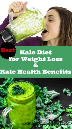Best Kale Diet for Weight Loss and Its Health Benefits  Kale diet for weight loss - A lot of people are wondering whether there really is a kale diet for weight loss or   http://www.blackdiamondbuzz.com/kale-diet-for-weight-loss-kale-health-benefits/  #weighlosswatchers #bellyfat #kalerecipe #smoothie #homeremedies