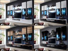 Details about MODERN HIGH GLOSS TV ENTERTAINMENT UNIT \
