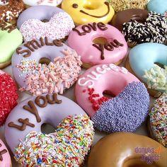 Donuts met tekst