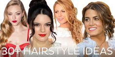 From old-Hollywood wavy styles to classic up-do's and from sexy rock'n'roll hair to whimsical braids, our favourite celebs are a great source of inspiration for prom hairstyle ideas.  View a gallery of hairstyles that includes Blake Lively, Ashley Greene, Amanda Seyfried, Kendall Jenner, and Carrie Underwood.