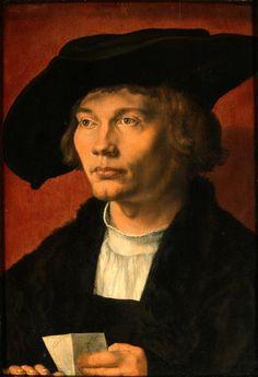 Bernhard von Reesen, Albrecht Dürer (Maler), 1521, Öl auf Eichenholz, 45,5 x 31,5 cm