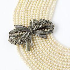 """""""Best in Bows"""" Pearl Necklace - Necklaces – Shop Jewelry 