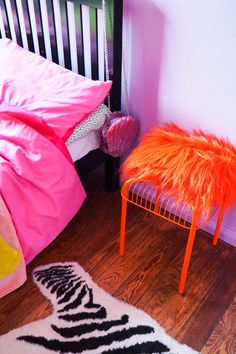 Amy's colourful and eclectic location house in Margate Room Ideas Bedroom, Bedroom Decor, Estilo Kitsch, Indie Room, Aesthetic Room Decor, Dream Decor, Home Interior, My Room, Home Deco