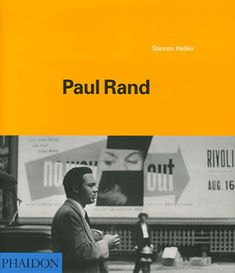 First published retrospective on American designer Paul Rand (1914-96), a major influence in the field of graphics and visual communication. Rand was an art director, teacher, writer and design consul