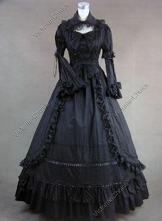 http://www.victorianchoice.com/vc/p/Renaissance-Gothic-Lolita-Dress-Ball-Gown-Prom-Reenactment/D218Black