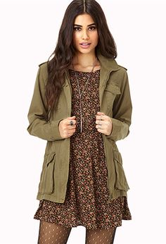 Get this cute Utility jacket from Forever21 at a discount: http://www.studentrate.com/all/get-all-student-deals/Forever21-Student-Discounts--/0