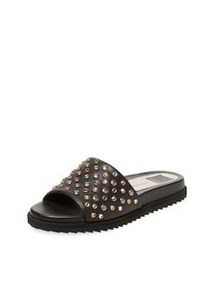 Gia-S Studded Leather Sandal by Dolce Vita at Gilt