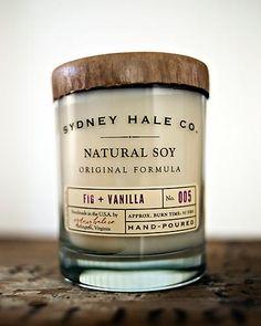Sydney Hale Co. Fig + Vanilla Candle