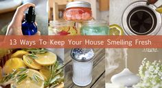 13 Odor Eliminators To Keep Your House Smelling Fresh...http://homestead-and-survival.com/13-odor-eliminators-to-keep-your-house-smelling-fresh/