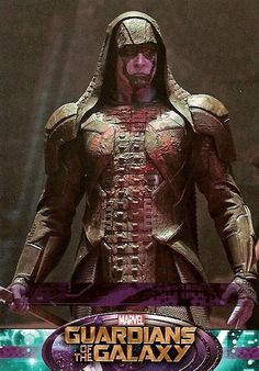 Guardians of The Galaxy Character Card #96 Lee Pace as Ronan