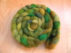 Hand Dyed Cheviot Ram Roving for Spinning and by KeridFromFleece