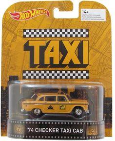 Hot Wheels '74 Checker Taxi Cab