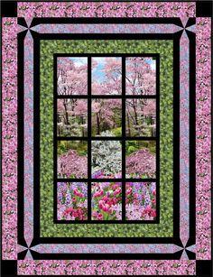 Botanic Garden Projects & Inspiration - Blog   TIMELESS TREASURES / Bella Vista Pattern by Jude Spero, Little Louise Designs