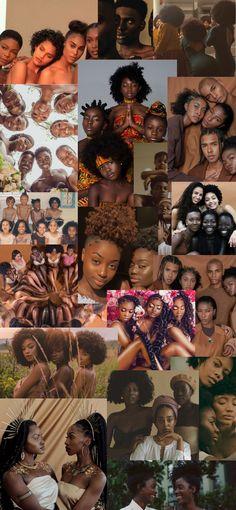 Black Aesthetic Wallpaper, Black Girl Aesthetic, Brown Aesthetic, Aesthetic Collage, Black Love Art, Beautiful Black Girl, Black Girl Art, Black Girl Cartoon, Brown Skin Girls