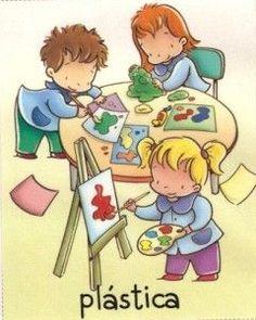 Rincón de Plástica Preschool Rules, Preschool Education, Preschool At Home, Drawing For Kids, Art For Kids, Early Childhood Education, Clipart, Art School, Kids Learning
