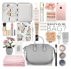 What's in my bag by sati199308 on Polyvore featuring polyvore fashion style Givenchy Accessorize Paul Smith Madewell Bare Escentuals philosophy Eve Lom Clarins Stila Herbivore Nails Inc. Fat Face abcDNA Pavilion Broadway clothing