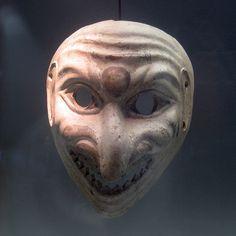 Roman Theater Mask by eliotc, via Flickr