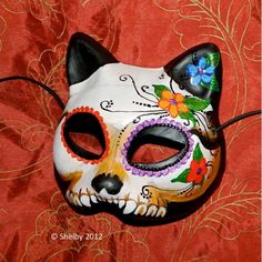 Hey, I found this really awesome Etsy listing at https://www.etsy.com/listing/83517233/day-of-the-dead-mask-dia-de-los-muertos