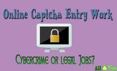 Online Captcha work review  http://allmoneytips.com/online-captcha-entry-work-scam/