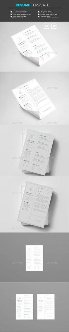 Resume Cover letter template, Letter templates and Resume cover - text resume template
