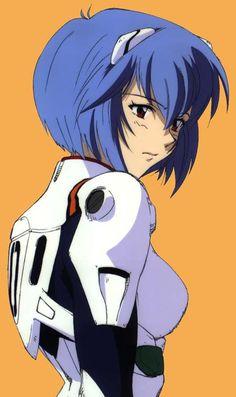 Rei Ayanami by chod Rei Ayanami, Neon Genesis Evangelion Rei, Manga Art, Anime Art, Anime Scenery, Aesthetic Anime, Kawaii Anime, Anime Characters, Fanart