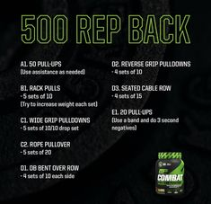 4 Week Workout, Full Body Workout Routine, Workout Ideas, Killer Workouts, Gym Workouts, At Home Workouts, Back Exercises, Fitness Exercises, Weightlifting