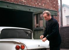Stoke City's Sir Stanley Matthews with his new car in 1965